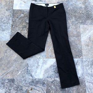 J. Crew Favorite Fit Black Suit Pants